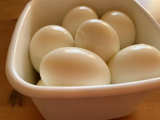 おでんのゆで卵