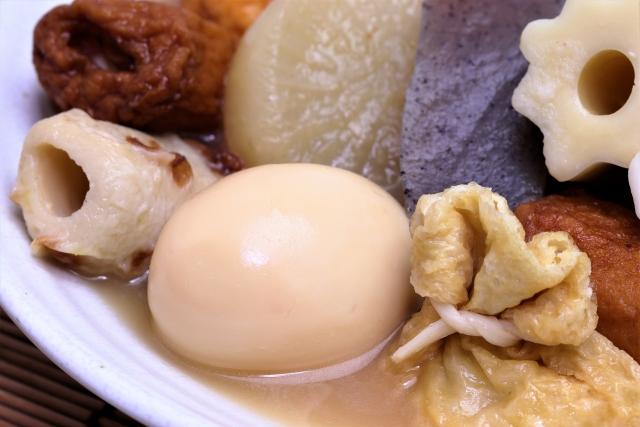 おでんのゆで卵はレンジで加熱してはいけない?!