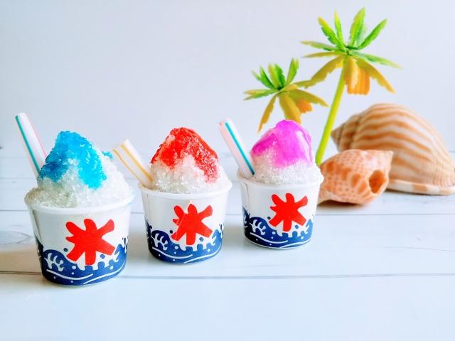 かき氷のシロップはスーパーにある?冬にかき氷が食べたい!