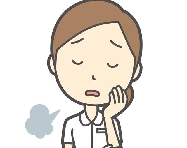 疲れている看護師